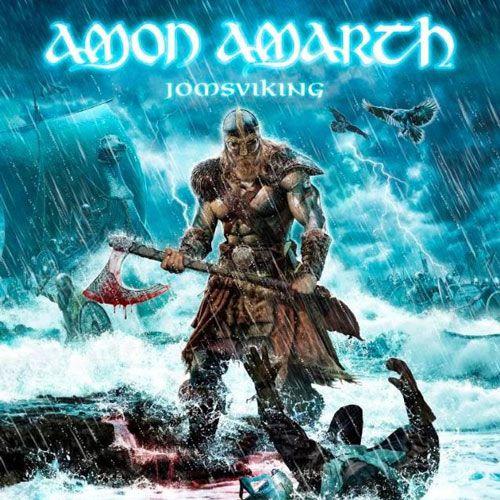 Portada del nuevo lanzamiento de Amon Amarth 'Jomsviking'