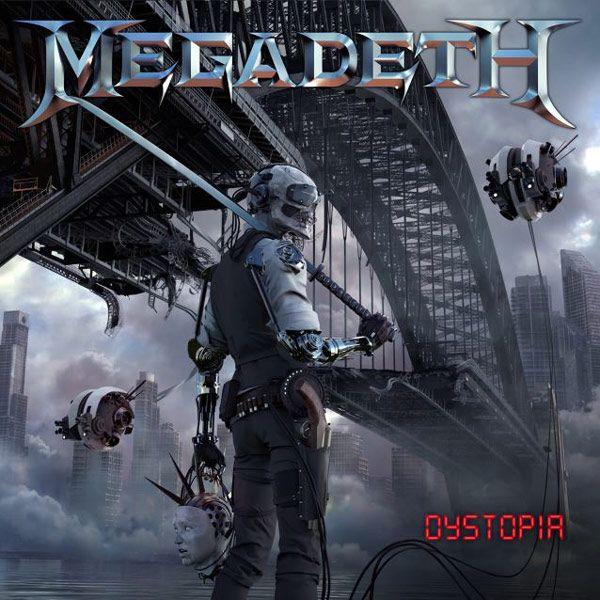 Portada del nuevo disco de Megadeth: 'Dystopia'