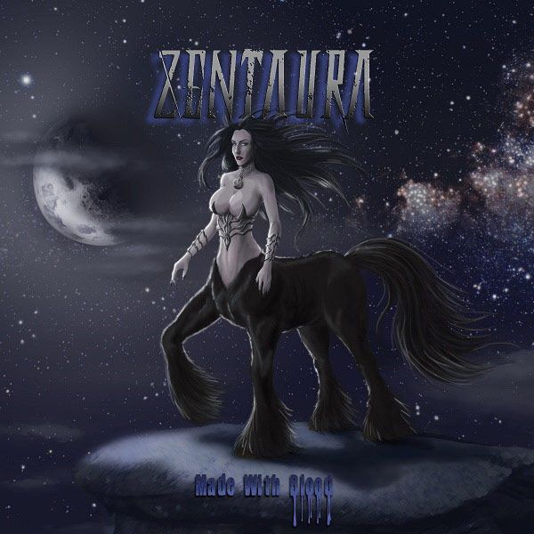 Portada del nuevo disco de Zentaura 'Made With Blood'