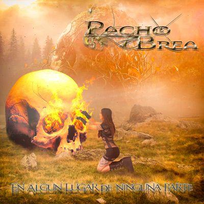 Portada del nuevo disco de Pacho Brea: 'En algún lugar de ninguna parte'