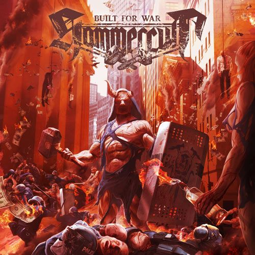 Portada del último disco de Hammercult, Built for War