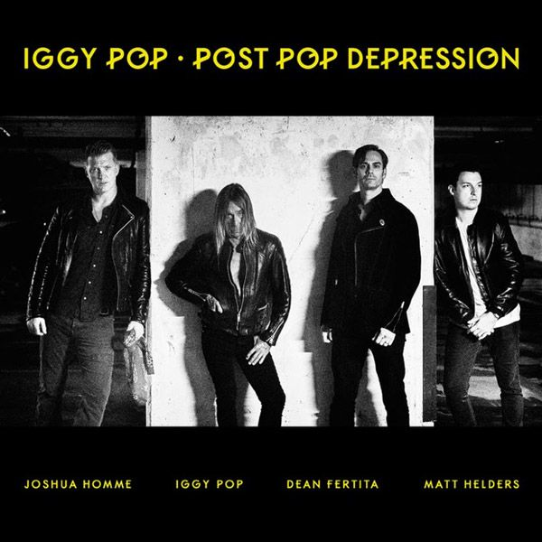 Portada del nuevo disco de Iggy Pop: 'Post Pop Depression'