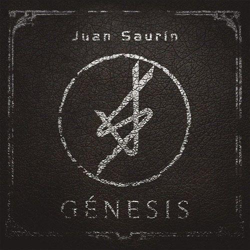Portada del nuevo disco de Juan Saurín 'Génesis'