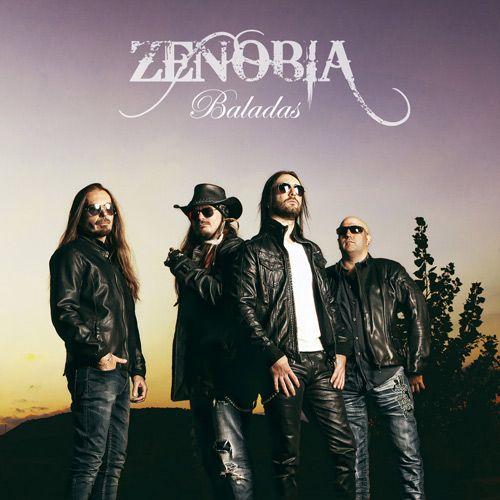 Portada del nuevo disco de Zenobia: 'Baladas'
