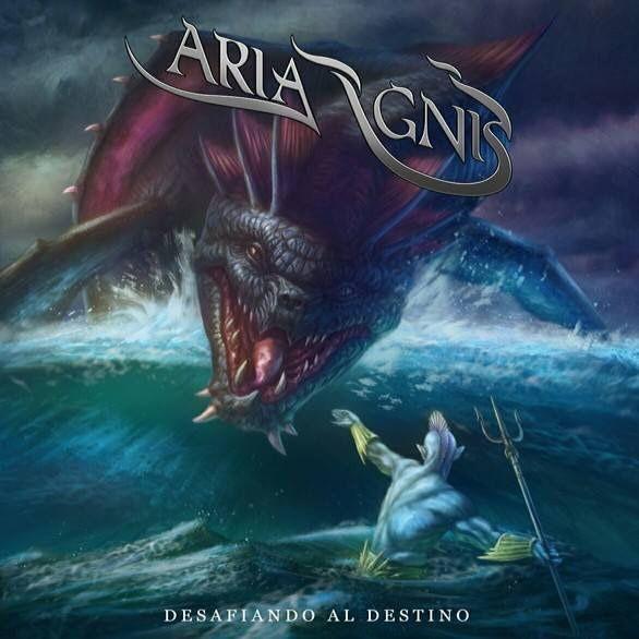 Portada del nuevo disco de Aria Ignis: 'Desafiando al destino', el cuál saldrá a la venta en abril o mayo