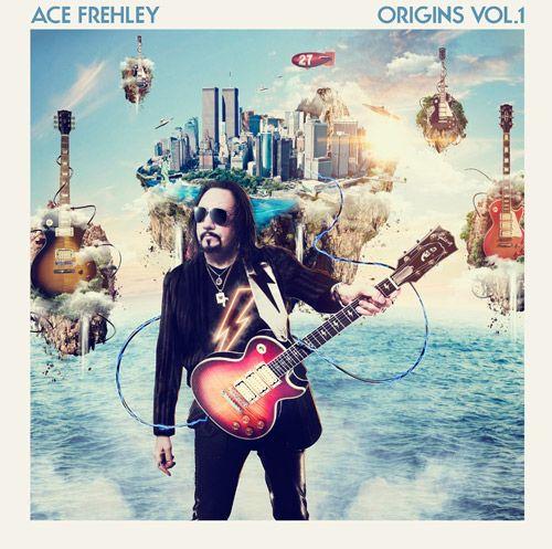 Portada del nuevo disco de versiones de Ace Frehley (ex-KISS), Origins Vol. 1