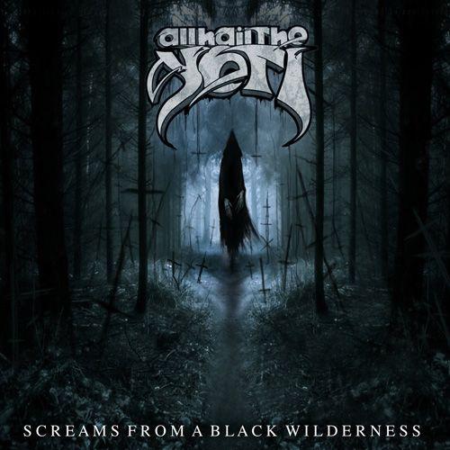Portada del nuevo disco de All Hail The Yeti, Screams From a Black Wilderness, previsto para 2016
