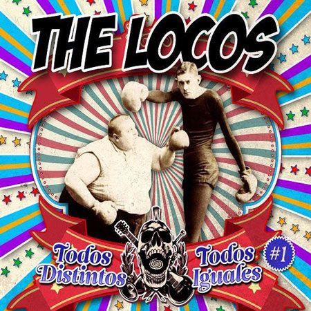 Portada del nuevo EP de The Locos 'Todos distintos, Todos Iguales'