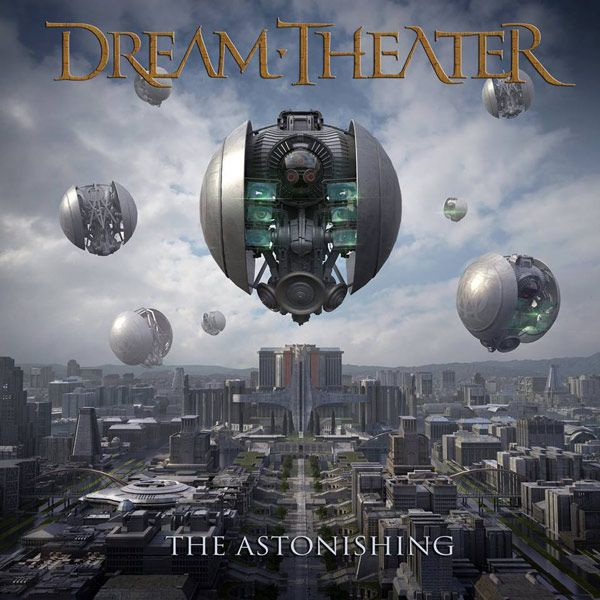 Portada del nuevo disco de Dream Theater: The Astonishing
