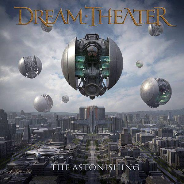Portada del nuevo disco de Dream Theater: The Astonishing