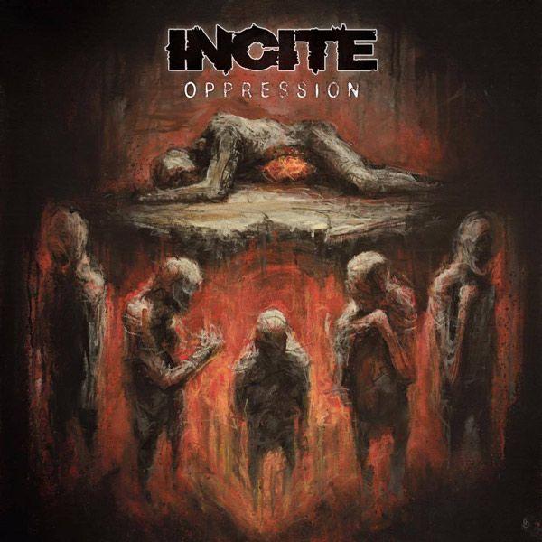 Portada del nuevo disco de la formación Incite: 'Oppression'