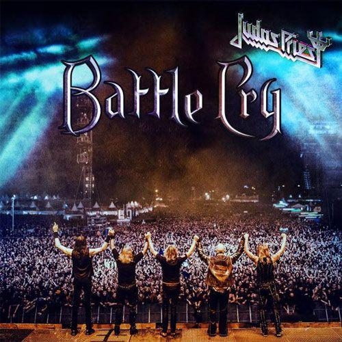 Portada del nuevo CD, DVD y Blu-Ray en directo de Judas Priest: Battle Cry, grabado en el Wacken Open Air 2016