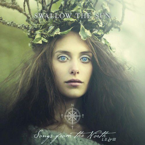 Portada del nuevo disco de Swallow The Sun: 'Songs From The North I, II & III' (2015)