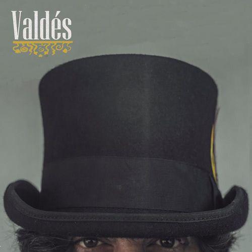 Portada del primer disco en solitario de 'Valdés', hijo de Hermes Calabria