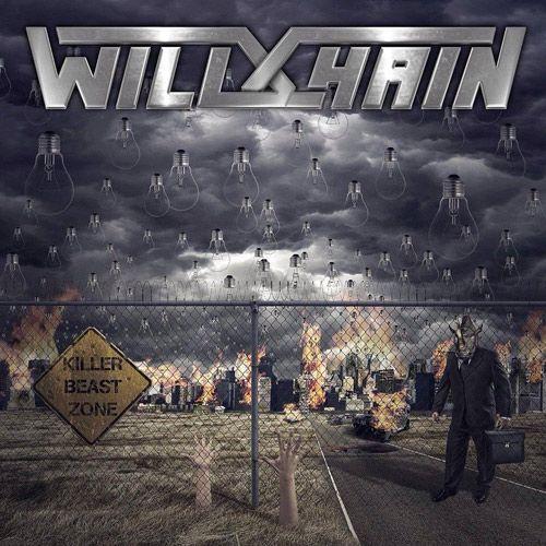 Portada del nuevo disco de Wild Chain: Killer Beast Zone (2016)