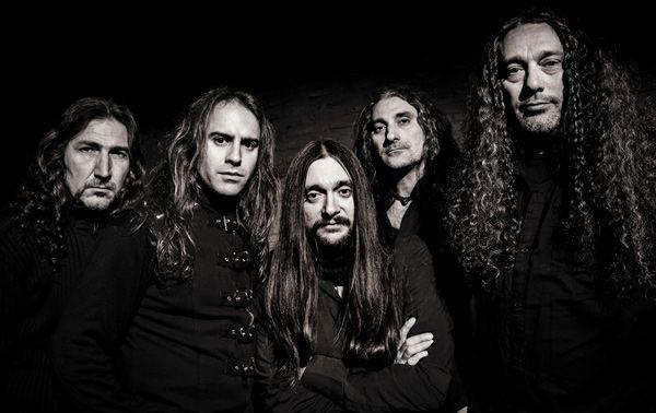 Formación de la banda andaluza Wild Chain en blanco y negro (2016)