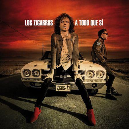Portada del nuevo disco de la banda valenciana Los Zigarros 'A todo que sí'