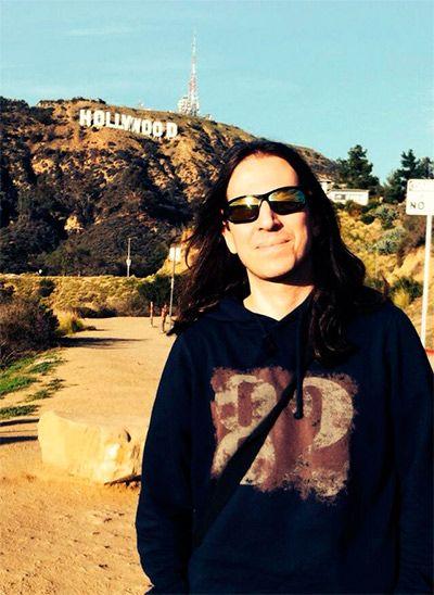 Jorge Salán en Hollywood