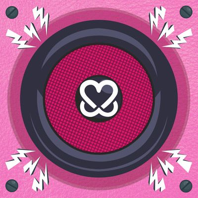Portada del recopilatorio 'Music for Boobies', el cual recopila fondos para luchar contra el cáncer de Mama