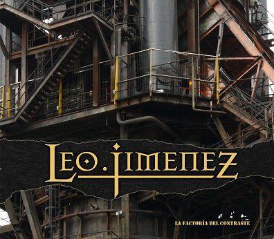 Portada del nuevo disco de Leo Jiménez, 'La Factoría del Contraste'