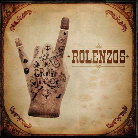 Portada del último disco de Rolenzos 'Gran Saloon'