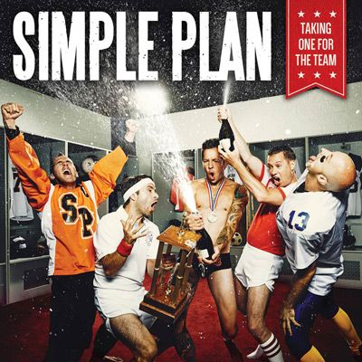 Portada del nuevo disco de Simple Plan: 'Taking One For The Team'