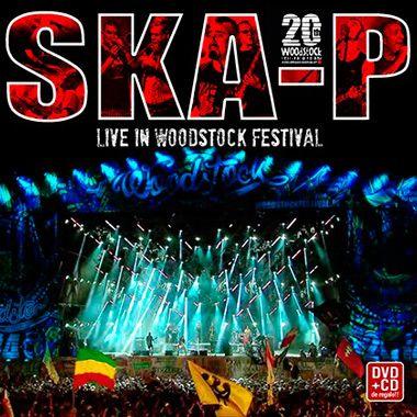 Portada del nuevo disco y DVD de Ska-P 'Live in Woodstock Festival'