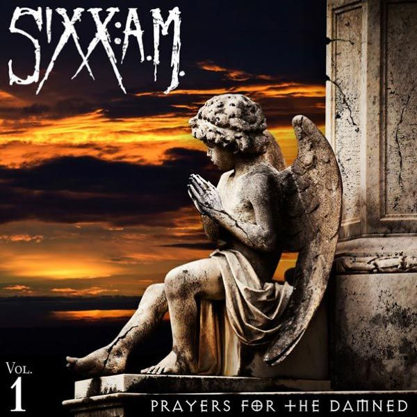 Portada del nuevo proyecto de Sixx A.M., Prayers For The Damned