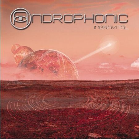 Portada del nuevo disco de la banda onubense Androphonic 'Ingravital' (2015)