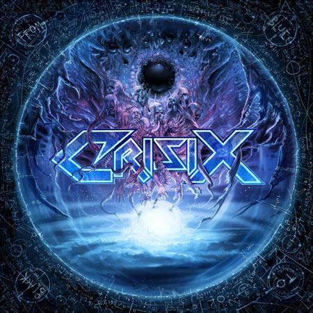 Portada del nuevo disco de Crisix: 'From Blue To Black'