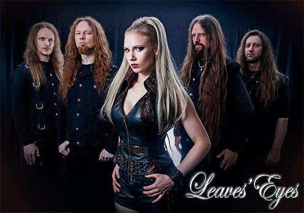 Leaves Eyes con su nueva vocalista, Elina Siirala