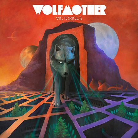 Portada del nuevo disco de Wolfmother: Victorious