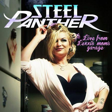Portada del nuevo disco en directo acústico de Steel Panther: Live from Lexxi's Mom's Garage