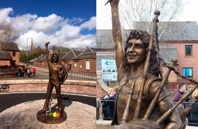 Bon Scott Estatua | Fotos: TripAdvisor
