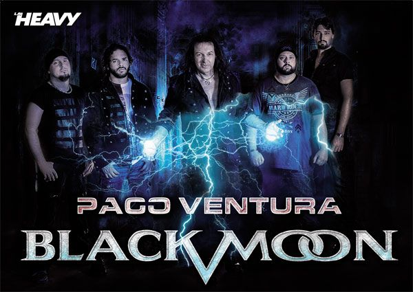 Poster Paco Ventura Black Moon revista La Heavy