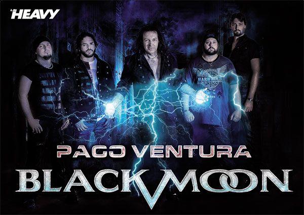Poster Paco Ventura Black Moon revista La Heavy