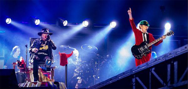 AC/DC y Axl Rose concierto Lisboa 07/05/16