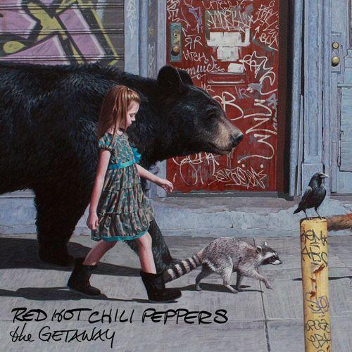 Portada del nuevo disco de Red Hot Chili Peppers 'The Getaway'