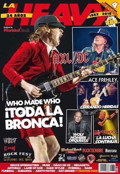 revista La Heavy nº384 AC/DC Angus Young