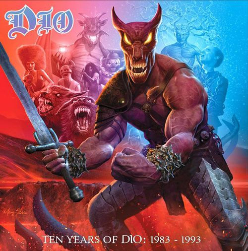 Cubierta de Dio: Ten Years of Dio 1983-1993