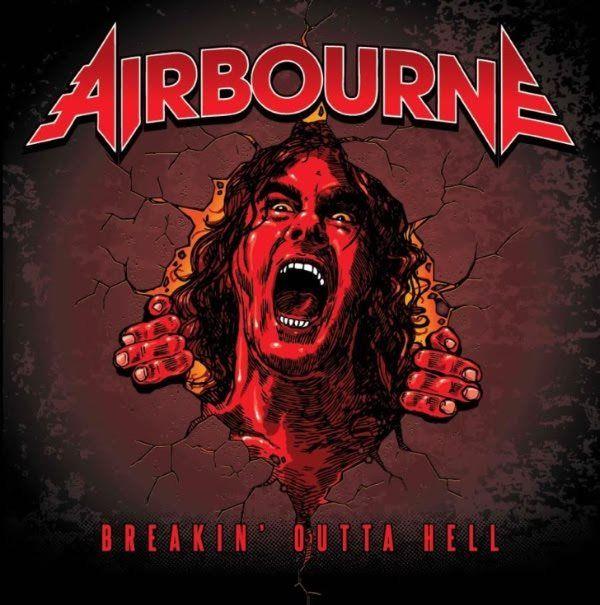 Cubierta del nuevo plástico de la banda australiana Airbourne