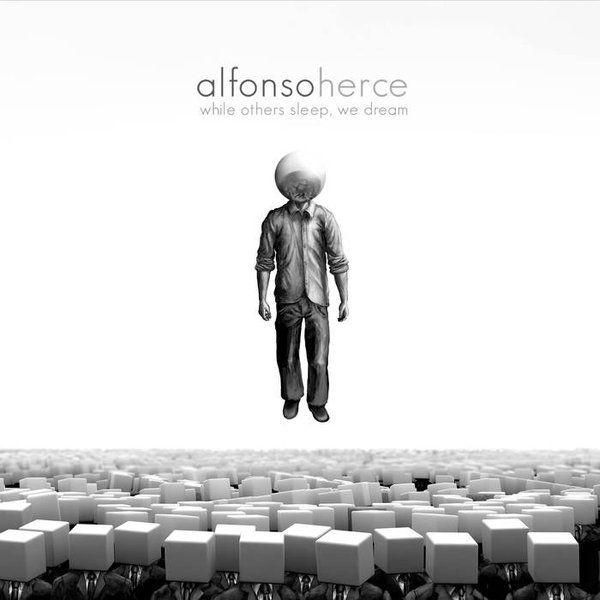 Cubierta en blanco y negro del nuevo disco de Alfonso Herce