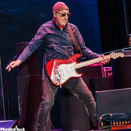 Pete Townshend, guitarrista de The Who, en directo en el Mad Cool Festival 2016