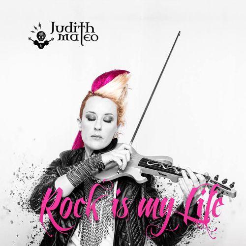 Cubierta del nuevo lanzamiento discográfico de Judith Mateo