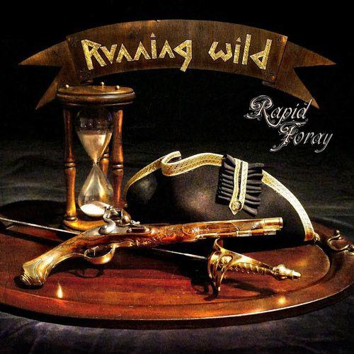 Cubierta pintada a mano del nuevo lanzamiento de Running Wild