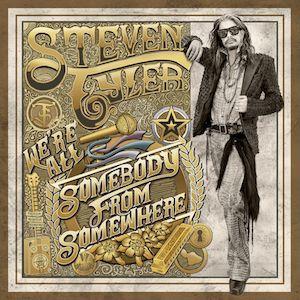 Cubierta del disco en solitario country de Steven Tyler