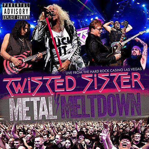Cubierta del nuevo disco en directo de Twisted Sister