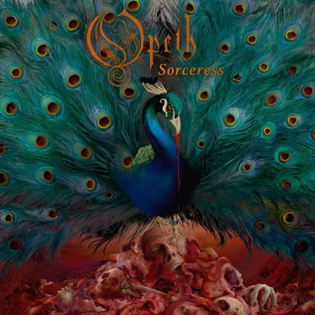 Portada sorceress album de opeth