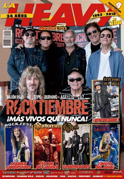 Revista La Heavy 386 Rocktiembre portada
