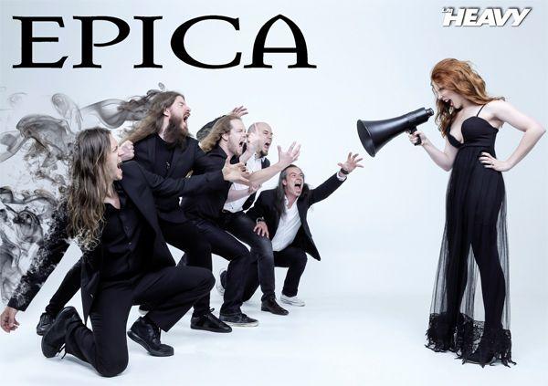 Poster Epica La Heavy